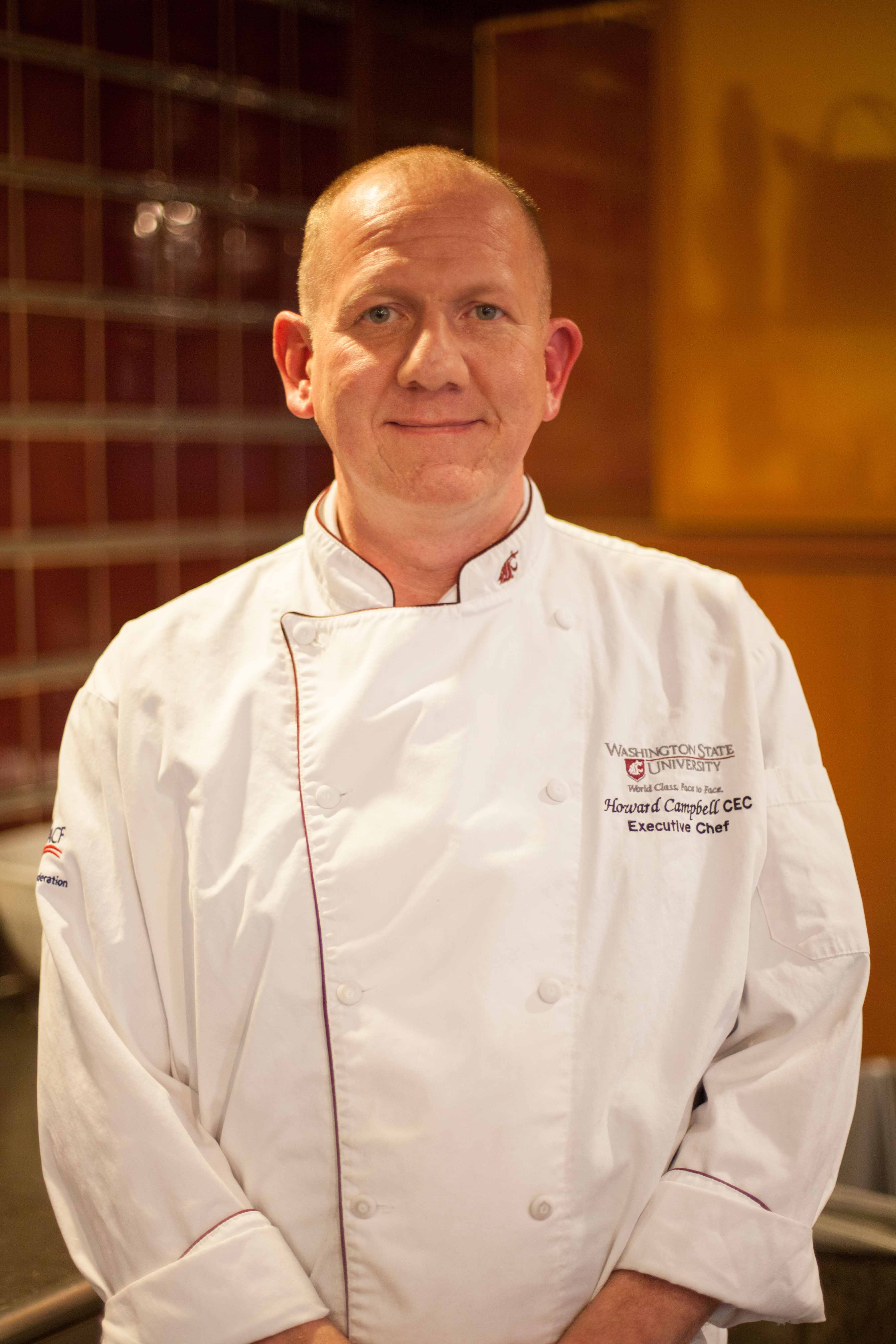 Headshot of Howard Campbell, Southside Cafe Executive Chef.